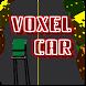 Voxel Car by Matthew Meade