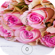 Pink Rose Love lock screen by davo-davo33