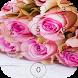 Pink Rose Love lock screen