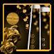 Luxury Golden Rose Locker Theme by App Lock, Screen Lock, Password