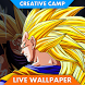 Fanart The Power Of Songoku SSJ3 Live Wallpaper by Gerald Developer