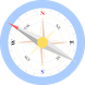 Easy North South Compass by QRVIT