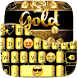 Luxury Gold Rose Keyboard by Golden Studio