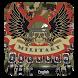 Military camouflage skull keyboard by Bestheme keyboard Creator