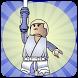 How To Draw lego starwars - luke skywalker by Simo Smooth