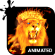 Fire Lion Animated Keyboard by Wave Design Studio