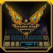 Golden Star spacecraft by M Typewriter Theme Studio