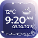 Digital Clock With Weather by The World of Digital Clocks