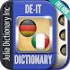 German Italian Dictionary by Julia Dictionary Inc
