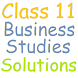 Class 11 Business Studies Sol. by RDS EDUCATION APPS