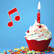 Happy Birthday songs: Name & Photo on cake offline