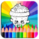 Coloring Pages for Shopkin by JackNapps