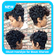 Shoirt Hairstyle for Black Women