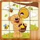 Kids Animal Sliding Puzzle by Tabs A