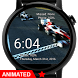 Animated Race Cars Watch Face by osthoro