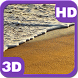 Tropical Sandy Beach Waves HD by PiedLove.com Personalization