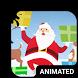 Santa Dance Animated Keyboard by Wave Keyboard Design Studio
