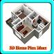 3D Home Plan Ideas by Windrunner