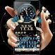 Fancy New year 2018 keyboard by Bestheme keyboard Creator 2018