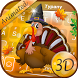 Thanksgiving Turkey Theme&Emoji Keyboard by Keyboard Fantasy
