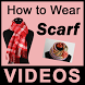 How To Wear Scarf VIDEOs by Swati Shah NJ