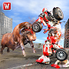 Super X Robot VS Angry Bull Attack Simulator by Warm Milk Productions