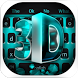 Blue 3D Tech keyboard