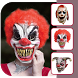 Killer Clown Mask Photo Editor by Canary Info