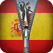 Spain Flag zipper screen lock by Group Support APPS
