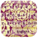 Fabric Luxe Floral Keyboard by live wallpaper collection