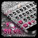 Skull Silver Keyboard by Cool Theme Studio