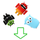 Falling Android Collectibles by John Vinnik Software House