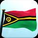 Vanuatu Flag 3D Free Wallpaper by I Like My Country - Flag