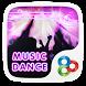 Music Dance GO Launcher Theme