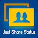 Just Share Status by KSV Developer