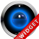 Poweramp Widget Lightblue Robo by Maystarwerk Skins & Widgets Vol.1