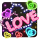 Neon Light Icons by Cool Theme Love