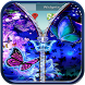 Butterfly Theme Zipper Lock by Apps Hunt