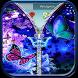 Butterfly Theme Zipper Lock by Apps Hunt