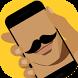 Mirror Mustache Makeup Selfie by Americos Technologies PVT. LTD.
