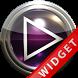 Poweramp Widget Purple Glas by Maystarwerk Skins & Widgets Vol.1