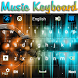 Music Keyboard by Luna Themes