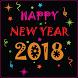 Happy New Year HD - GIF 2018