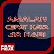 Amalan Cepat Kaya 40 Hari by Prau Media