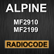 MF2910 Radio Code Decoder by Radiocode24.de