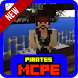 Pirates mod for MCPE by travmatika