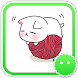 Stickey Lovely Cartoon Girl by Awesapp Limited