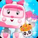 Robocar Poli cupcake by Princess Cupcake Games