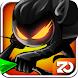 Stickman Revenge: Shadow Run by Zonmob Game Studio