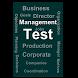 Business Management Test by Thangadurai R